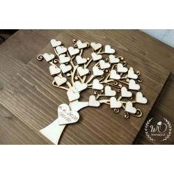 Svatební strom - kniha hostů 1 (Na zakázku)