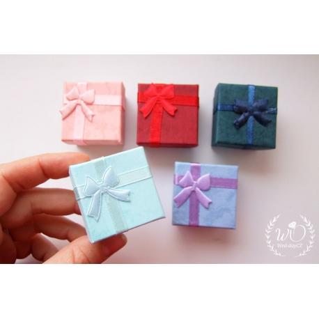 Dárková krabička růžová/modrá