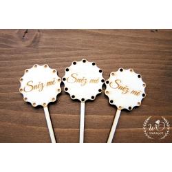 Jmenovka na cupcake - Jmenovky a vývazky