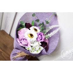 Svatební mýdlová kytice
