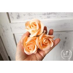 Svatební dárková mýdla Růže broskev