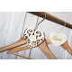 """Svatební dekorace na ramínko """"Ženich"""" - Jmenovky a vývazky"""
