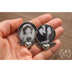 Brož pod sako nebo na svatební kytici Vaše FOTO