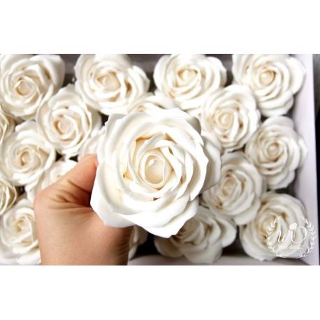 Svatební dárková mýdla Růže broskev 50ks