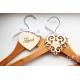 Svatební ramínko Nevěsta - Jmenovky a vývazky