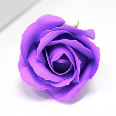 Svatební dárková mýdla Růže královská modř