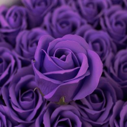 Svatební mýdlo Růže fialové 50ks