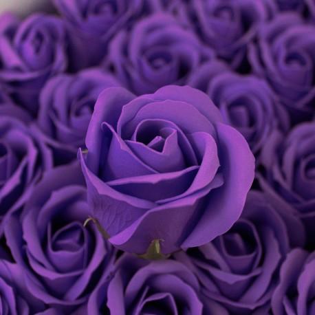 Svatební mýdlo Růže královská modř 50ks