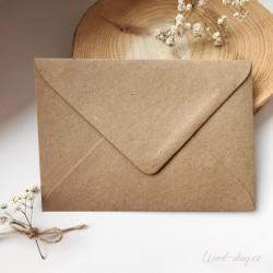 Rustikální craft - Obálky a pečetě