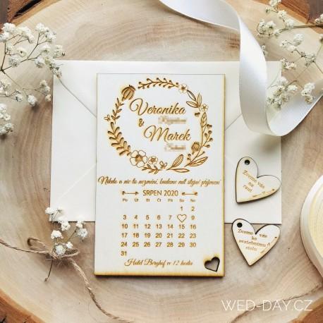 Mák vlčí a kalendář - Oznámení