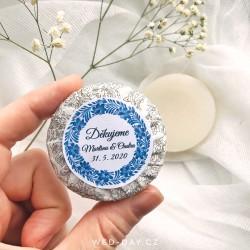 Folklor + váš text - Svatební mýdlo