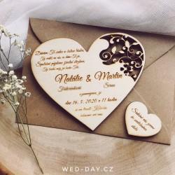 Srdce a čtyřlístek - Oznámení