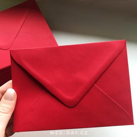 Červená - Obálky a pečetě