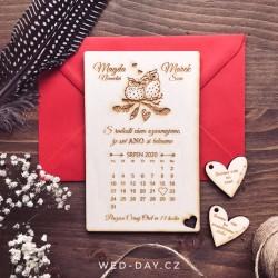 Sovy Kalendář - Oznámení