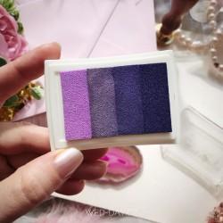 Razítkovací polštářek fialový