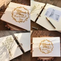 KVĚTINY - Svatební album/Kniha hostů