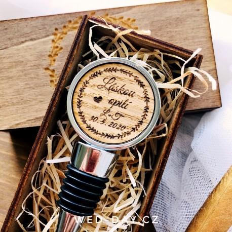 Zátka pro novomanžele - Zátka na víno