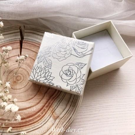 Dárková krabička svatební růže
