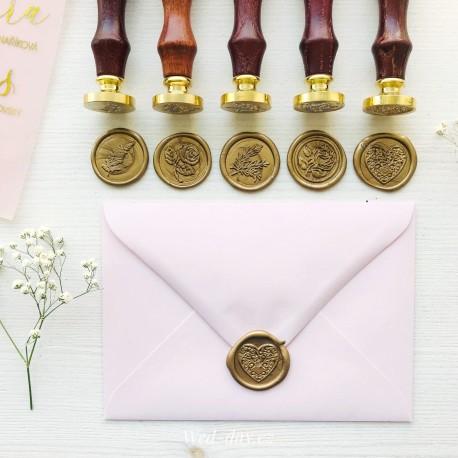 Svatební pečeť na obálku