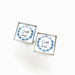 Knoflíčky Blue Svědek ženicha