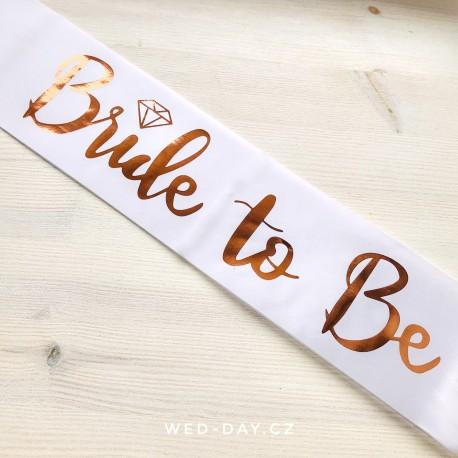 Šerpa na rozlučku Bride to be 2 barvy