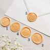 Pečeť meruňková - Obálky a pečetě