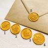 Pečeť zlatá - Obálky a pečetě