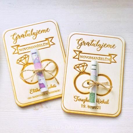 Dárková kartička - dary