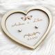 Ptáčci - Podnos pro prstýnky srdce