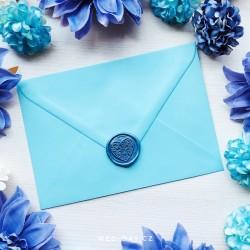 Světlá modrá - Obálky a pečetě