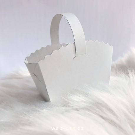 Svatební košíček na výslužku