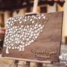 Dřevěný stojan malířský