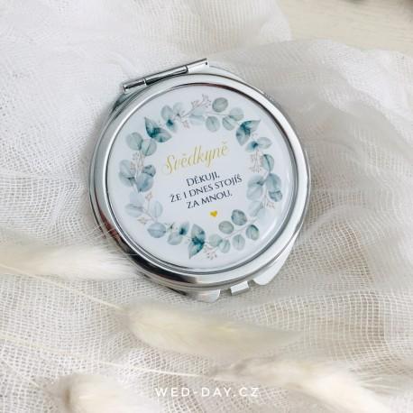 Silver eukalypt Svědkyně - zrcátko